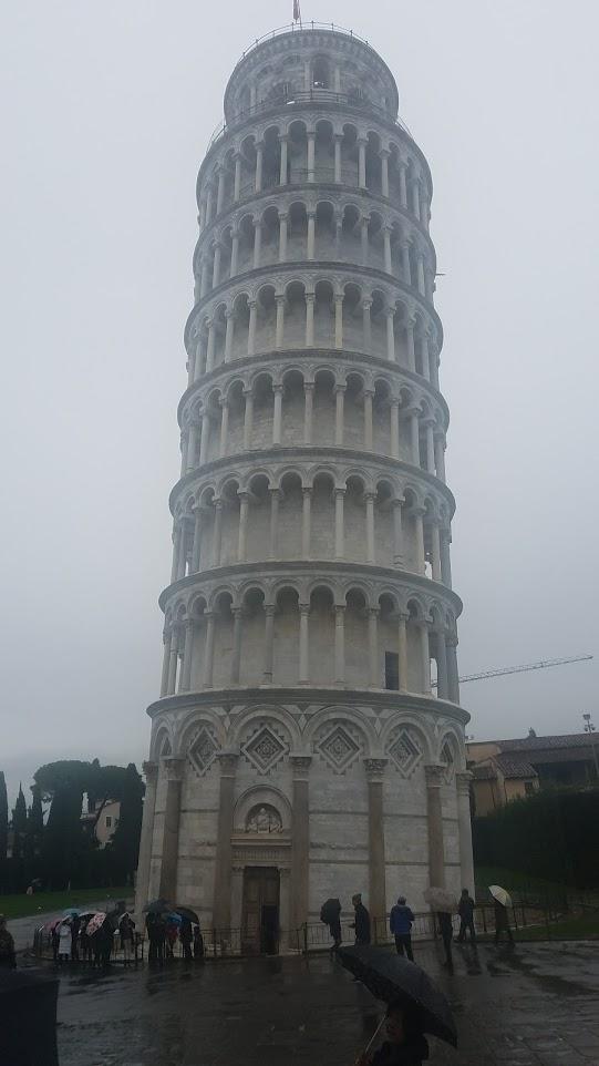 イタリア フィレンツェ ピサの斜塔