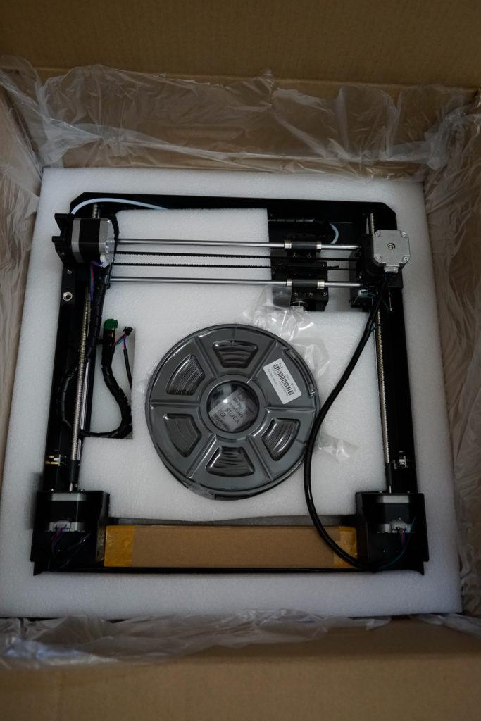 3Dプリンター Anycubic i3 Mega 開封