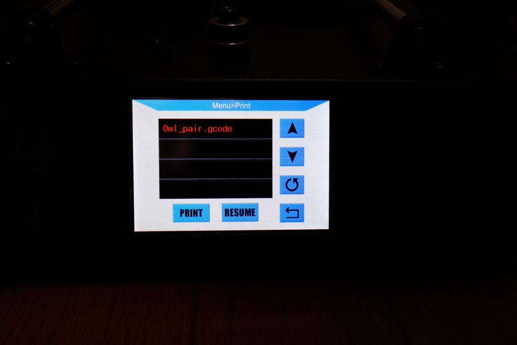 3Dプリンター Anycubic i3 Mega サンプル出力